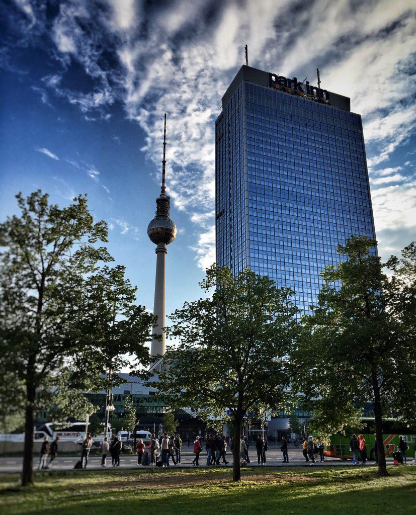 Fernsehturm und Park Inn