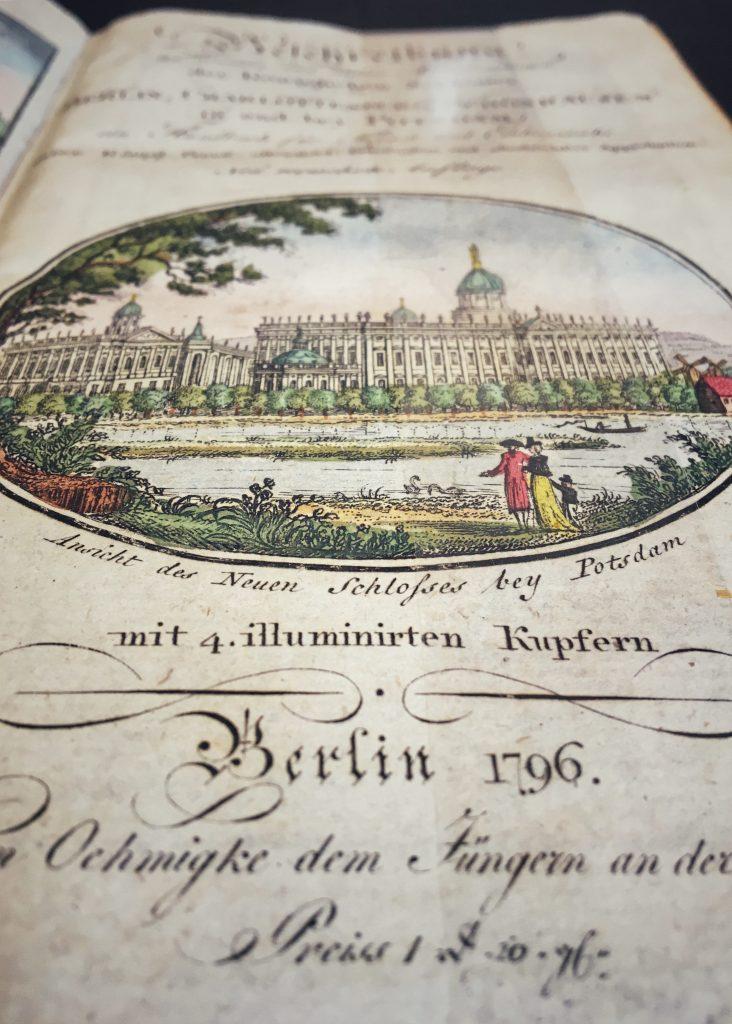 Antiquariat Struck Reiseführer 1796