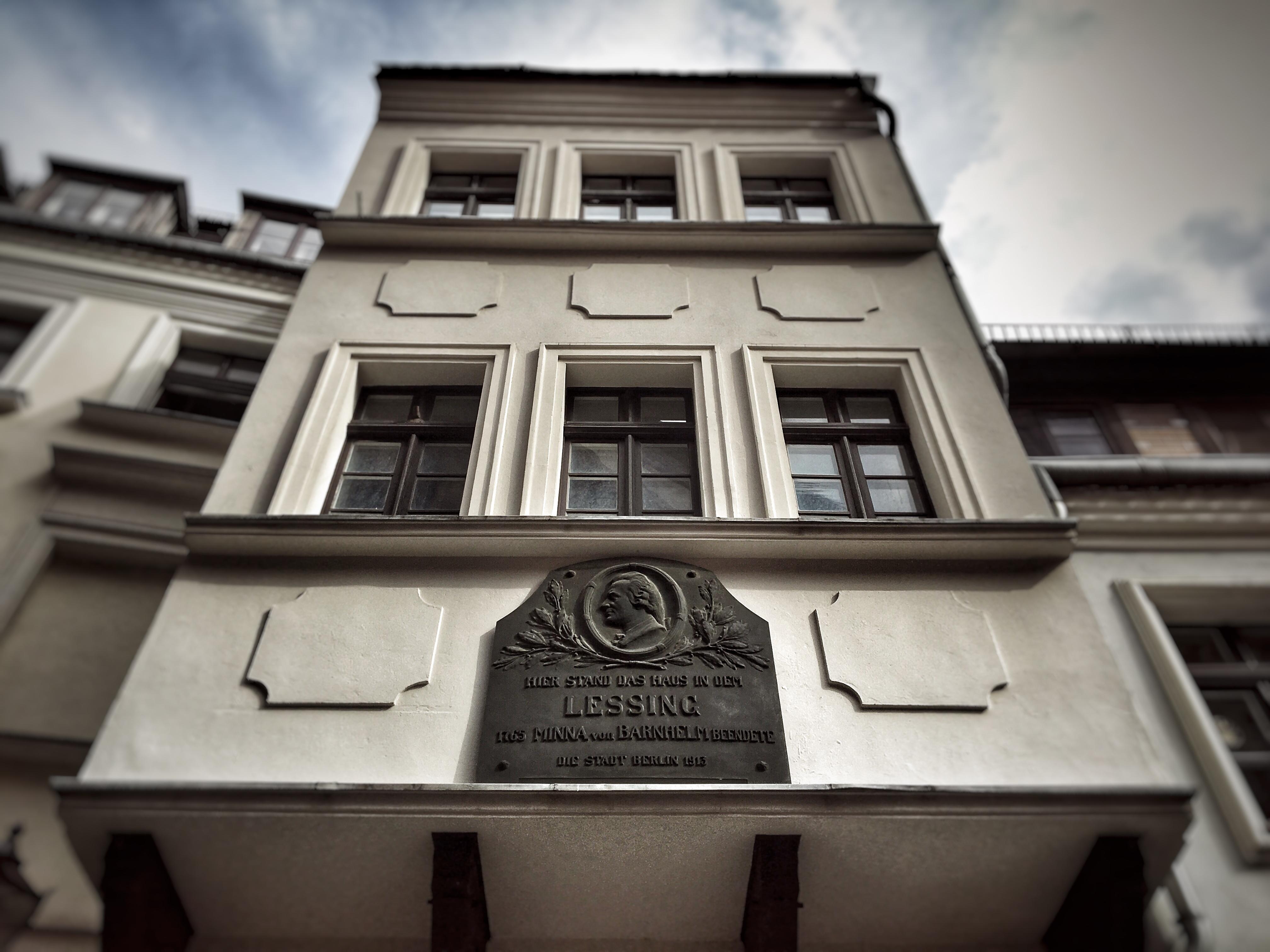 Berliner Nikolaiviertel Lessinghaus