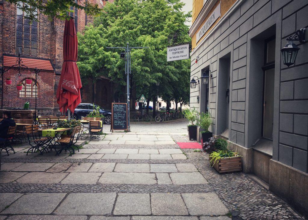 Eiergasse Berlins kürzeste Straße