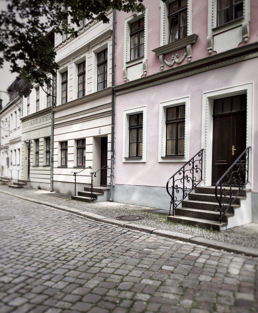 Impressionen Berliner Nikolaiviertel Häuserfassaden