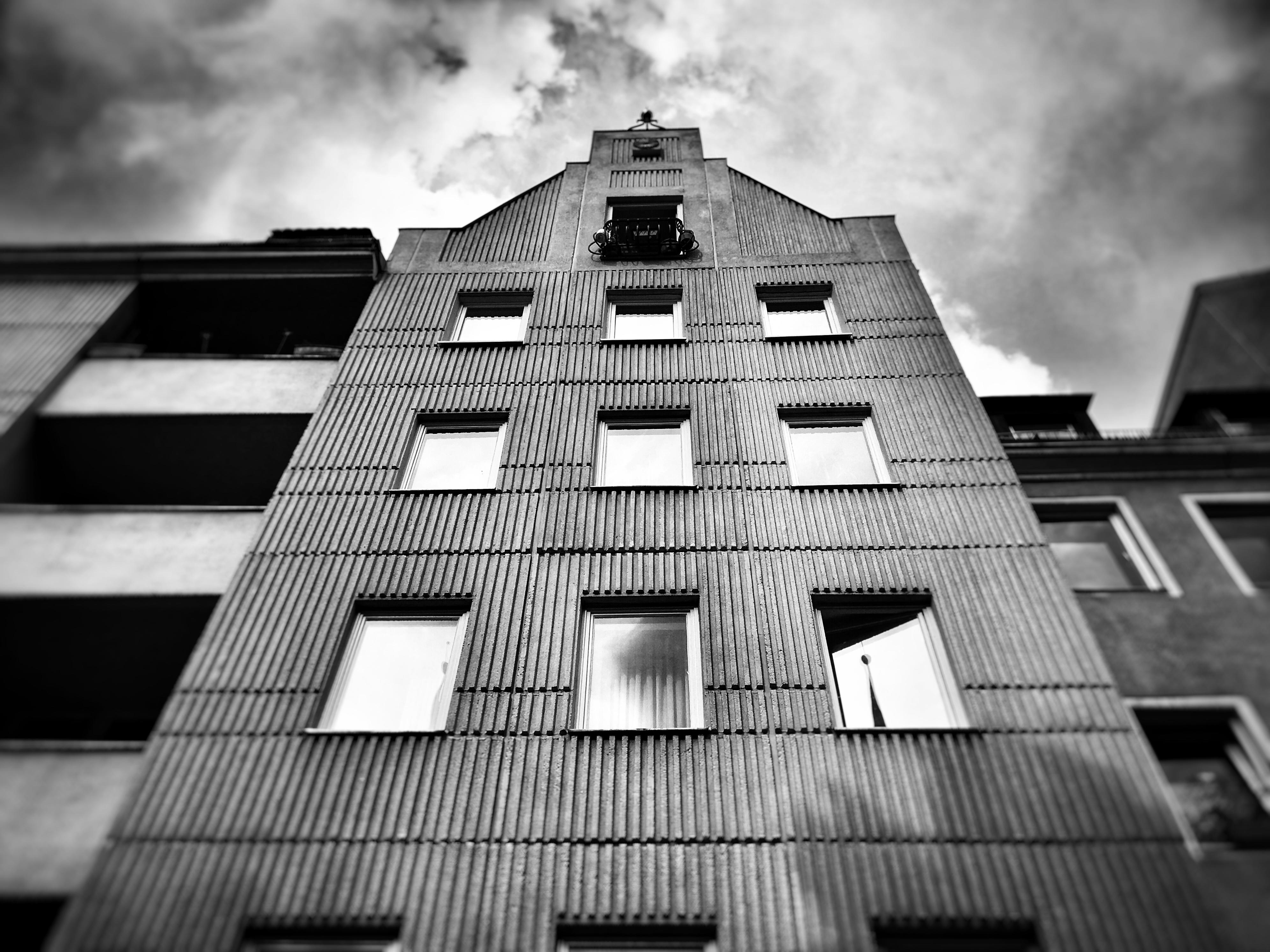Impressionen Berliner Nikolaiviertel Plattenbau